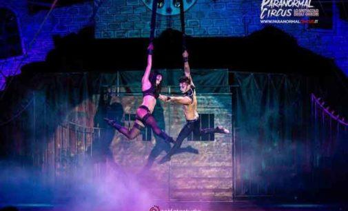 Fiammante ed adrenalinico, il Paranormal Circus a Rossano Calabro
