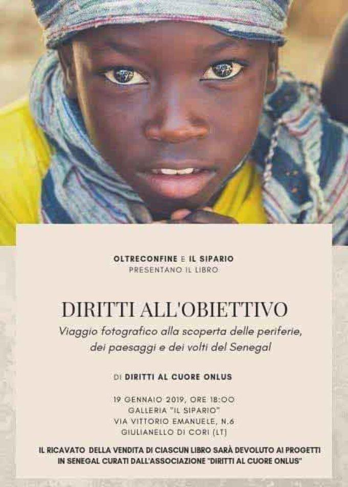 Diritti all'obiettivo, Oltreconfine presenta a Giulianello il libro di Diritti al Cuore Onlus