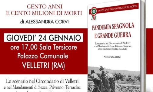 Pandemia Spagnola e Grande Guerra alla sala Tersicore, Velletri