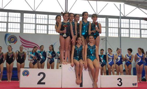 Asd Judo Frascati, il settore ginnastica artistica ottiene un doppio primo posto a squadre in serie D
