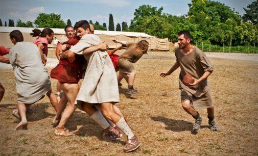 Lirfl (rugby a 13), protocollo d'intesa col Gruppo storico romano: il 21 aprile si giocherà ad harpastum
