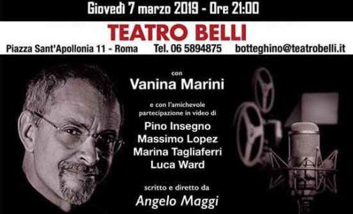 Teatro Belli – Il DoppiAttore (La Voce oltre il buio)