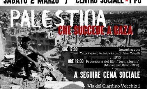 """Marino – """"PALESTINA: CHE SUCCEDE A GAZA"""""""