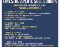 """Albano Laziale, avviato il progetto """"Finestre Aperte sull'Europa"""""""