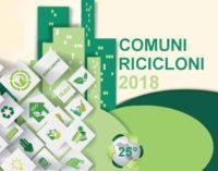 Comuni Ricicloni, Cori al 72% di differenziata