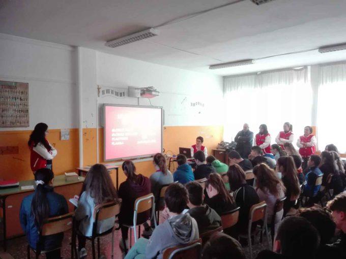 Alla scuola Vivaldi di S. Maria delle Mole l'AVIS incontra i ragazzi