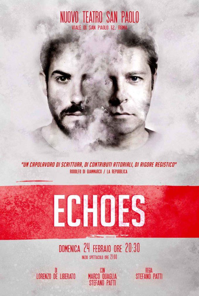 ECHOES al Nuovo Teatro San Paolo il 24 Febbraio