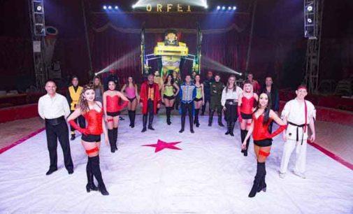 Gli spettacoli del circo Greca Orfei ad Agrigento (dal 15 al 25 febbraio)