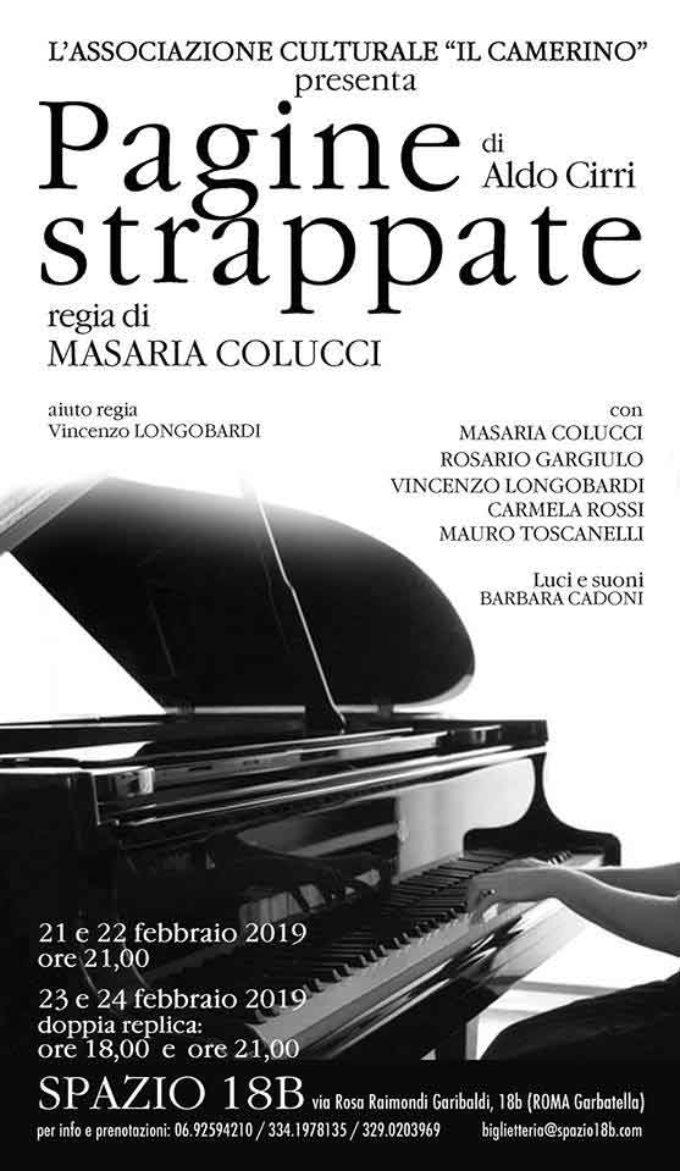 Teatro Spazio – PAGINE STRAPPATE