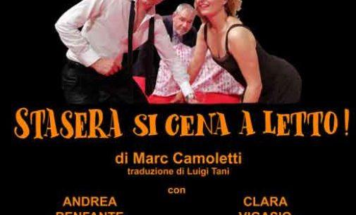 """Teatro di Rocca di Papa – """"Stasera si cena al Letto"""""""