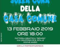 """MERCOLEDÌ 13 FEBBRAIO AD ANZIO IL CONVEGNO """"SULLA CURA DELLA CASA COMUNE"""""""