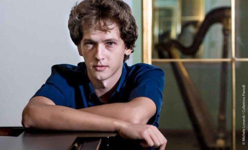Ivan Krpan, ventunenne pianista croato, debutta a Roma con Beethoven e Liszt