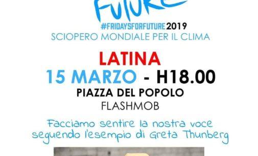 Venerdì 15 Marzo, Sciopero Mondiale per il Clima…anche a Latina!