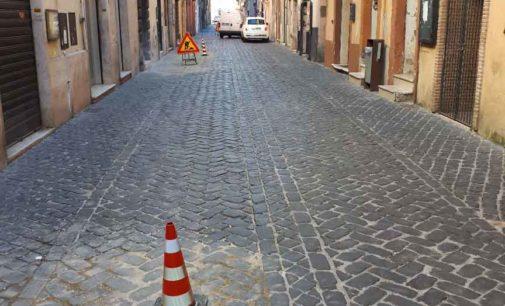 Zagarolo – Avviati gli interventi di manutenzione straordinaria su Via Antonio Fabrini