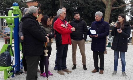 Lanuvio, inaugurata l'area fitness a Campoleone