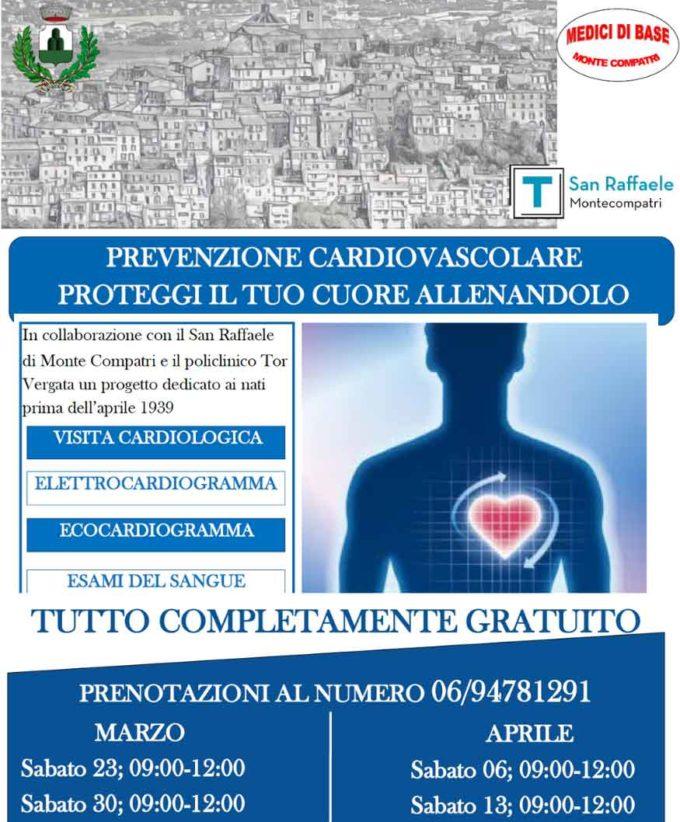 Monte Compatri – Salute, prevenzione cardiovascolare