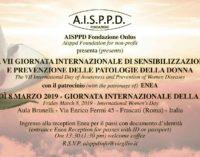 Frascati – Aisppd Onlus 8 marzo 2019