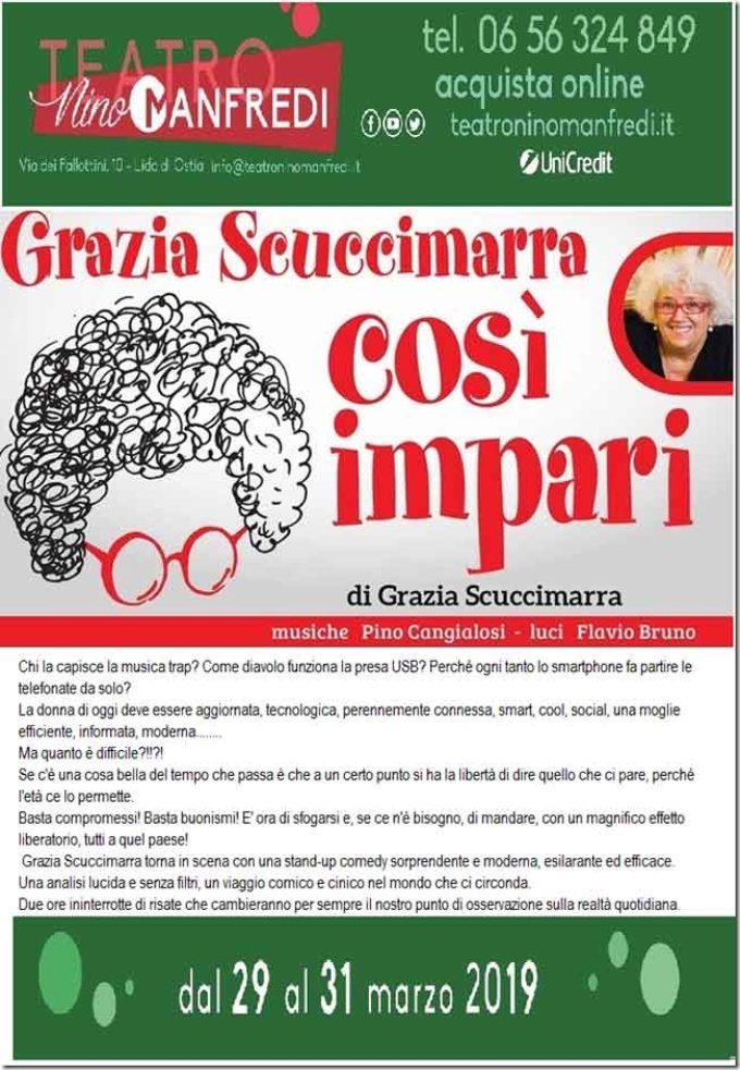 """""""Così impari"""" di Grazia Scuccimarra"""