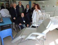 L'associazione Shanky Quad dona 10 poltrone letto al reparto pediatria dell'ospedale di Velletri