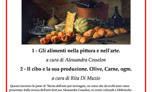 Arte e Cibo – Incontro e conferenza Gli alimenti nella pittura e nell'arte