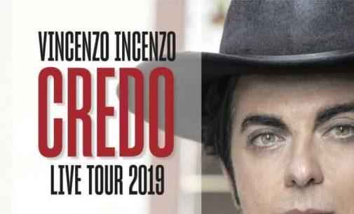 Teatro di Rocca di Papa – VINCENZO INCENZO  CREDO Live Tour 2019