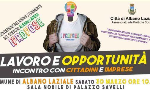 """Albano Laziale, sabato 30 marzo a Palazzo Savelli presentazione di """"IPropose"""""""