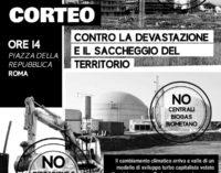 CORTEO NAZIONALE A ROMA  CONTRO LE GRANDI OPERE E CONTRO LA  DEVASTAZIONE E IL SACCHEGGIO DEI TERRITORI
