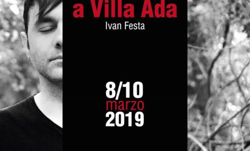 PASOLINI A VILLA ADA diretto e interpretato da Ivan Festa_ dall' 8 al 10 marzo_ Teatrosophia
