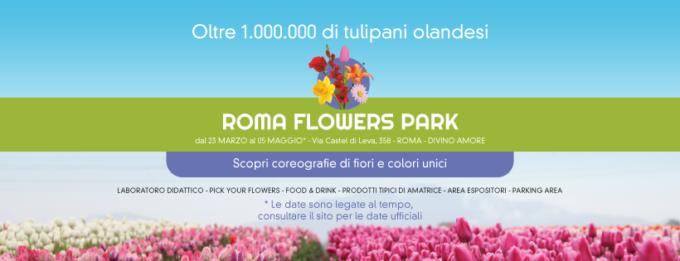 Apre per la prima volta nella capitale il Roma Flowers Park