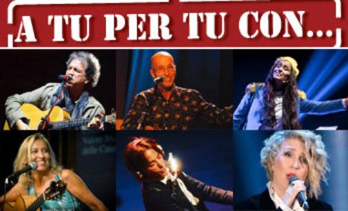 """A TU PER TU CON…: dal 23 marzo al 14 aprile al Teatro Golden la rassegna """"intima"""" sulla canzone d'autore"""