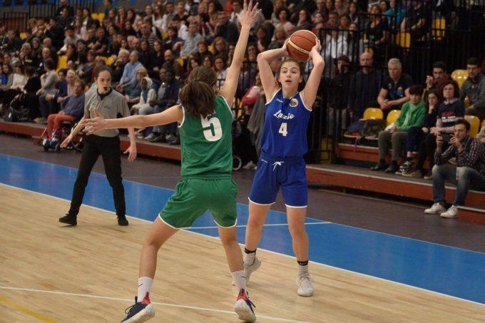Club Basket Frascati, Ottaviani miglior giocatrice della rappresentativa al Torneo delle Regioni