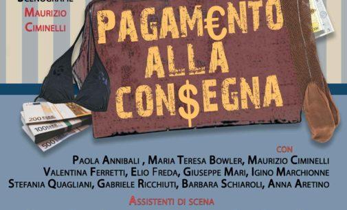 """Pagamento alla consegna"""" Teatro Capocroce Frascati"""