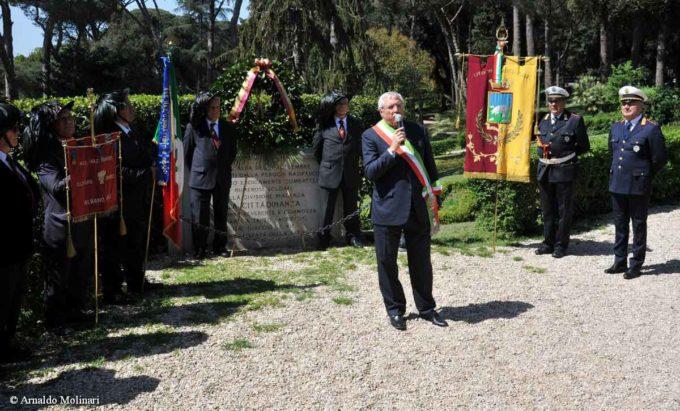 Albano Laziale, celebrazioni Festa della Liberazione
