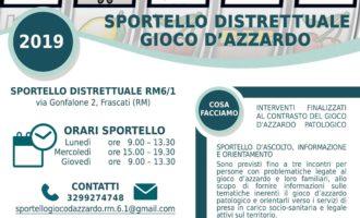 Frascati – Sportello distrettuale gioco d'azzardo RM 6/1