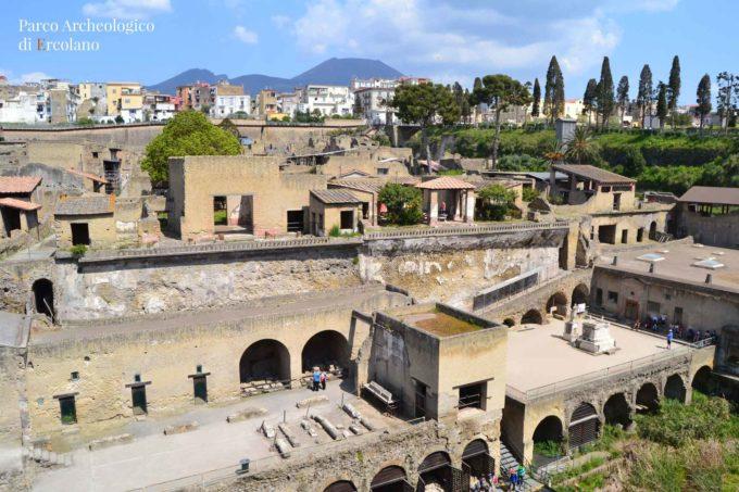 Il Parco Archeologico di Ercolano  si conferma meta prescelta delle festività Pasquali