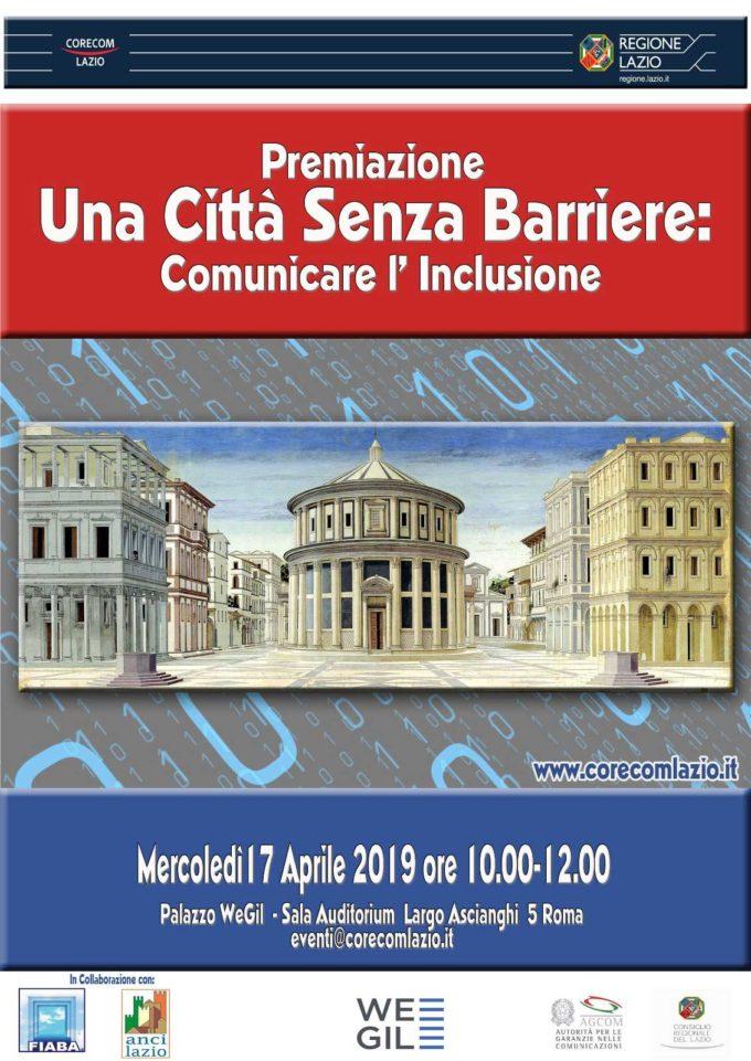 """""""Una Città senza barriere: comunicare l'inclusione"""""""