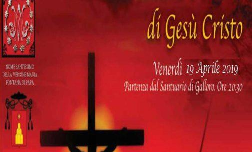 Ariccia – In occasione del venerdì santo torna la Via Crucis animata, Passione e Morte di Gesù Cristo