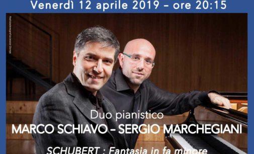 Ariccia, a Palazzo Chigi le danze ungheresi di Brahms con Schiavo e Marchegiani