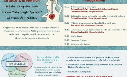 Frascati, un incontro sulle buone pratichee sulla prevenzione della salute