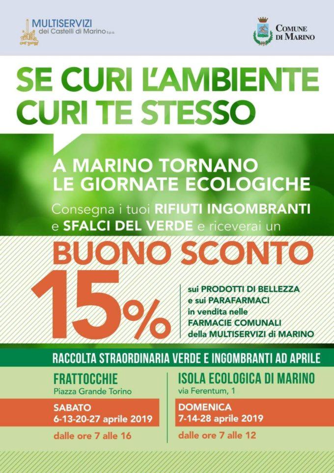 Marino – WEEKEND ECOLOGICI
