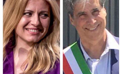 GROTTAFERRATA, IL SINDACO ANDREOTTI INVITA IN CITTA' LA NEOPRESIDENTE SLOVACCA ZUZANA CAPUTOVA