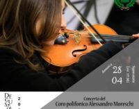 """Domenica 28 – Concerto del Coro Polifonico Alessandro Moreschi a """"DEGUSTANDO 2019"""""""