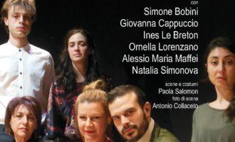 DI TANTO AMORE, da Il gabbiano di A. Cechov, Teatro Trastevere, 30 aprile-5 maggio