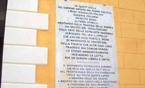 Per un'Europa libera e unita  A misura d'uomo  Altiero Spinelli, 18 agosto 1943