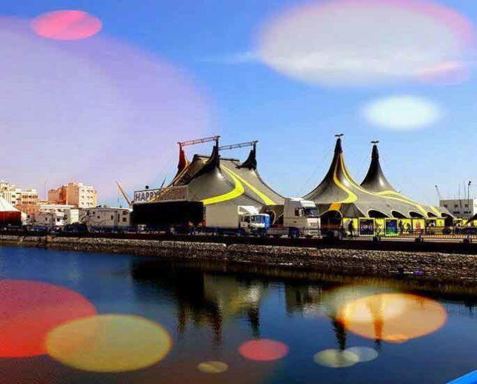 Sensazionale è l'internazionale Happy Circus a Sant'Agata di Militello