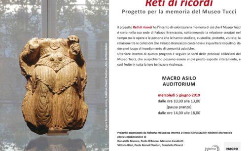 Reti di ricordi Progetto per la memoria del Museo Tucci