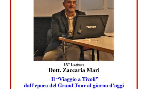 Archeoclub Aricino Nemorense: corso di archeologia, lezione tenuta dal prof. Zaccaria Mari