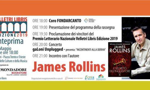 """James Rollins e una domenica da ricordare per l'evento di anteprima della rassegna """"Velletri Libris"""""""