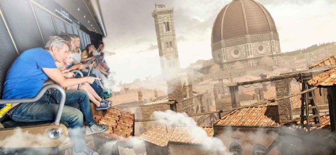 IL FUTURO IRROMPE A CINECITTA' WORLD CON L'ARRIVO DEL PRIMO CINEMA VOLANTE 3.0.