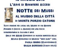 Notte Dei Musei al Museo della Città di Monte Porzio Catone